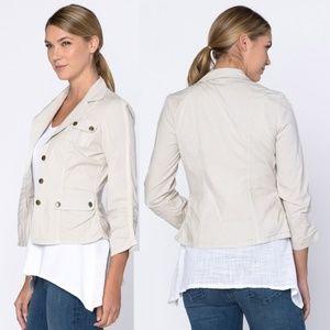 XCVI Folksy Safari Jacket for Summer2018